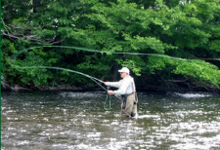 Cazenovia fly fishing photo
